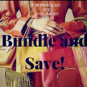 """BUNDLE TWO OR MORE & GET 20% OFF"